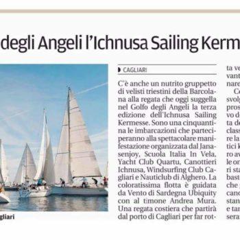 Rassegna stampa - Ichnusa Sailing Kermesse 2016