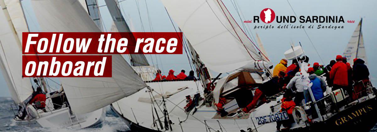 Mini round Sardinia race